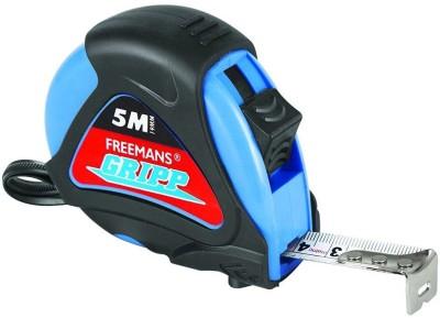 Freemans GR519-Gripp Steel Rubberized Rule 16mmX5m - 5Pcs Measurement Tape(5 Metric)