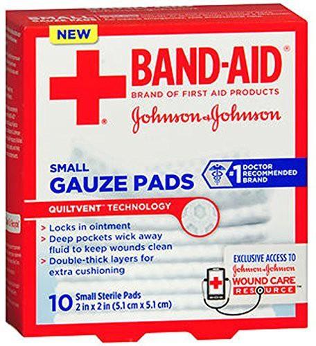 Johnson & Johnson Gauze Medical Dressing