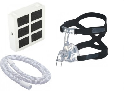 Hoffrichter TREND II Filter, Therapy Tube & CPAP Nasal Mask Medium Medical Equipment Combo