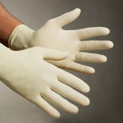 Salus SPLTX1000M Latex Examination Gloves