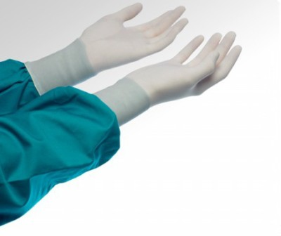 Medex Sterile Powdered (Size-7.5) 25 Pairs Latex Surgical Gloves