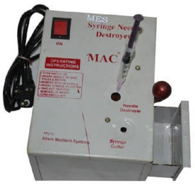 MES Needle Destroyer & Burner (Metal Case ) Medical Needle(Mullti Color)