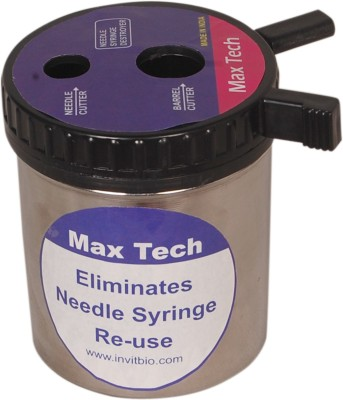 Maxtech-M Manual Cutter SS Medical Needle(Black)