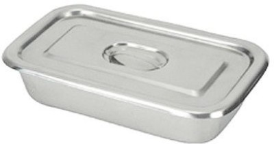 IndoSurgicals (200 X 79 X 40 mm) Stainless Steel Instrument Reusable Medical Tray