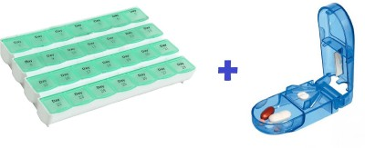 EZY Combo Box & Cutter 11 Medicine Dispe...