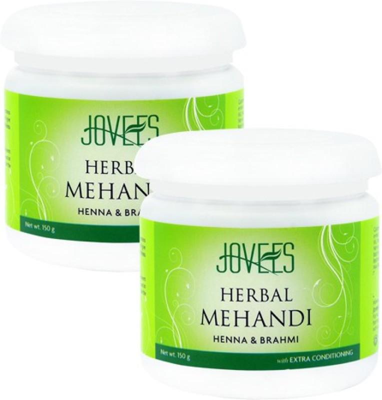 Jovees 14158 Natural Mehendi(Pack of 2)