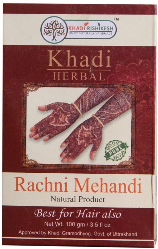 Khadi Rishikesh Rachni Natural Mehendi(Pack of 1)