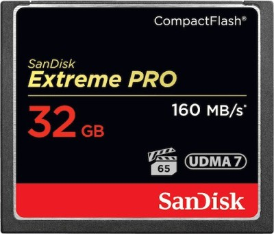 Sandisk Extreme Pro 32GB 160 Mb/s Compact Flash Memory Card