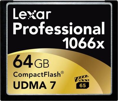 Lexar Professional 64 GB Compact Flash Class 10 160 MB/s  Memory Card at flipkart