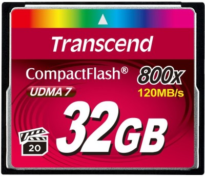 Transcend-TS32GCF800X-32GB-800X-Compact-Flash-Memory-Card