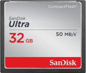 SanDisk ULTRA 32 GB Compact Flash Class 10 50 MB/s  Memory Card