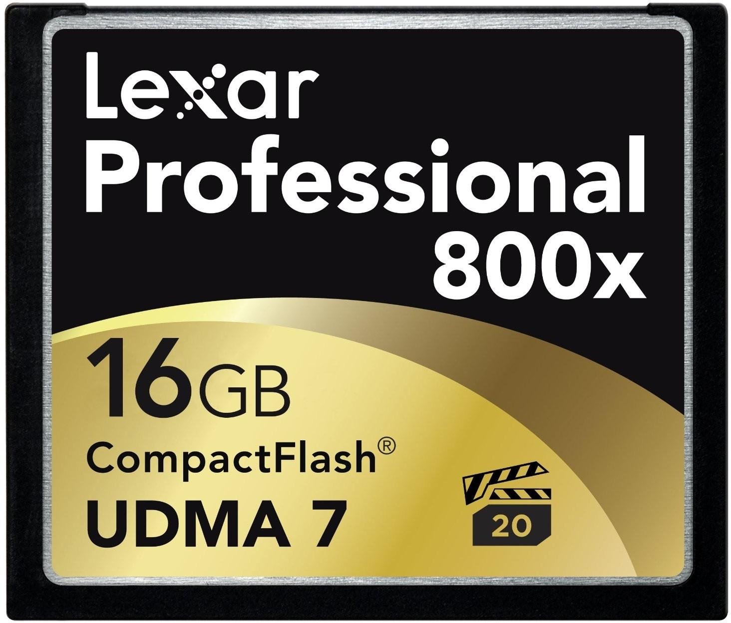 View Lexar 16 GB Compact Flash  Memory Card Price Online(Lexar)