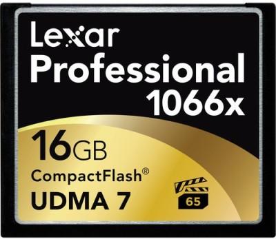 Lexar Pro 16GB 1066x Compact Flash Memory card