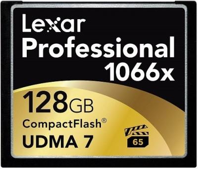 Lexar Pro 128GB 1066X Compact Flash Memory Card
