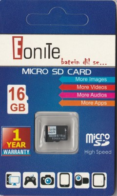 EONITE BATEIN DIL SE... EN3 16 GB MicroSD Card Class 10 10 MB/s  Memory Card
