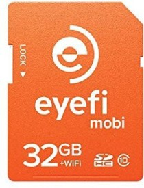 Eye-Fi Pro 32 GB MicroSD Card Class 10 Memory Card