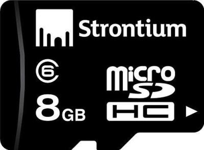 Strontium-8GB-MicroSDHC-Class-6-(24MB/s)-Memory-Card