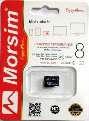 Morsim 8 GB MicroSD Card Class 10 48 MB/s Memory Card