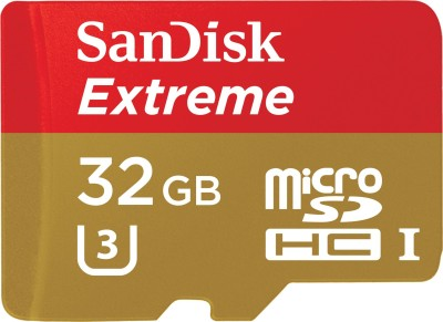 SanDisk-Extreme-32GB-MicroSDHC-Class-10-(90MB/s)-UHS-1/U3-Memory-Card