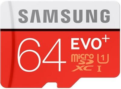 Samsung-Evo-Plus-64GB-MicroSDXC-Class-10-(80MB/s)-Memory-Card
