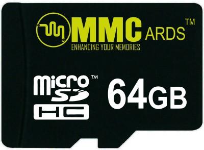 MMC 64 GB MicroSDHC Class 10  Memory Card at flipkart
