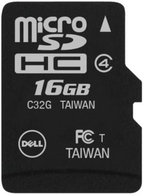 Dell 16GB MicroSDHC Class 4 Memory Card