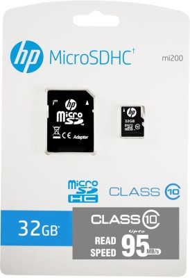 HP-32-GB-MicroSDHC-Class-10-(95Mb/s)-Memory-Card-(With-Adapter)