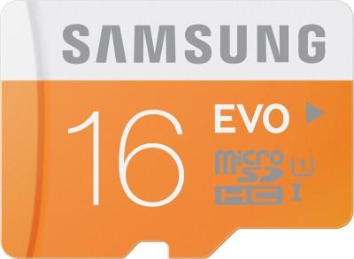 Compare SAMSUNG Evo 16 GB MicroSDHC Class 10 48 MB/s  Memory Card at Compare Hatke