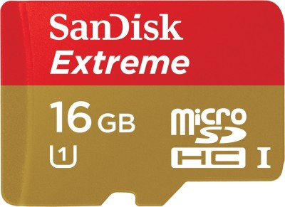 SanDisk-Extreme-16GB-MicroSDHC-Class-10-(45MB/s)-UHS-1/U1-Memory-Card