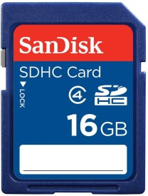 SanDisk SD 16 GB SD Card Class 4 20 MB/s  Memory Card
