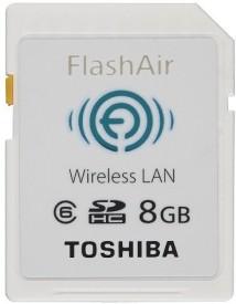 Toshiba FlashAir 8GB Class 6 SDHC Wireless Memory Card