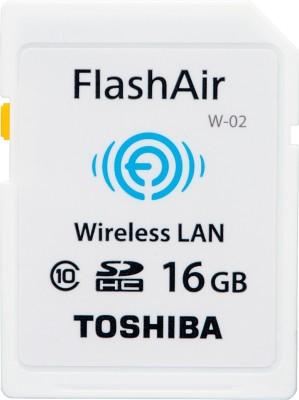 Toshiba 16 GB SDHC Class 10 Memory Card
