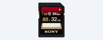 Sony SF-32Ux 32GB 94MB/s Class 10 SDHC Memory Card