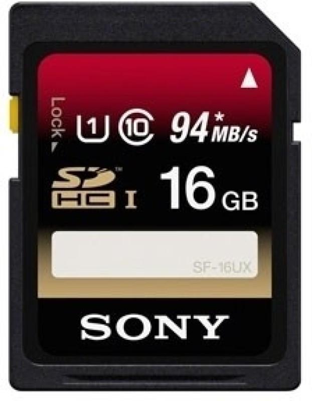 Sony 16 GB SDHC Class 10 94 MB/S  Memory Card