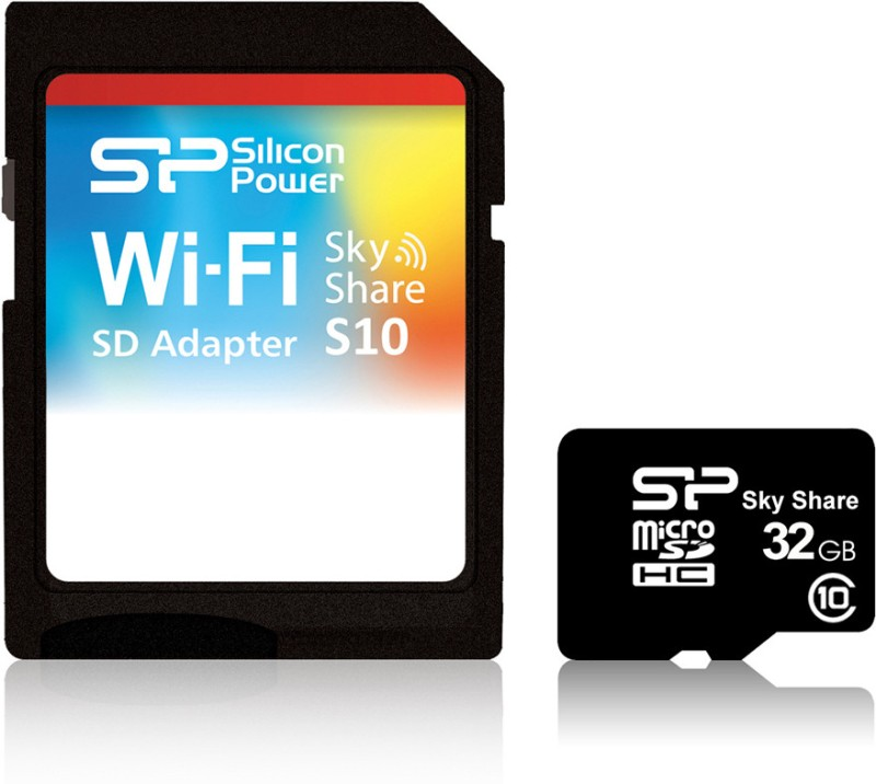 Silicon Power 32 GB SDHC Class 10  Memory Card(With Adapter)