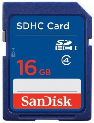 SanDisk SDHC 16 GB SDHC Class 4 15 MB/s Memory Card