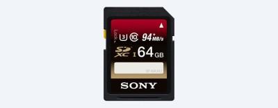 Sony SF-64UX 64GB 94MB/s SDXC Class 10 Memory Card