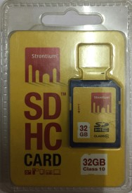 STRONTIUM PRO 32 GB Ultra SDHC Class 10 10 MB/s  Memory Card