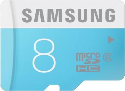 Samsung 8 GB MicroSDHC Class 6 24 MB/s  Memory Card