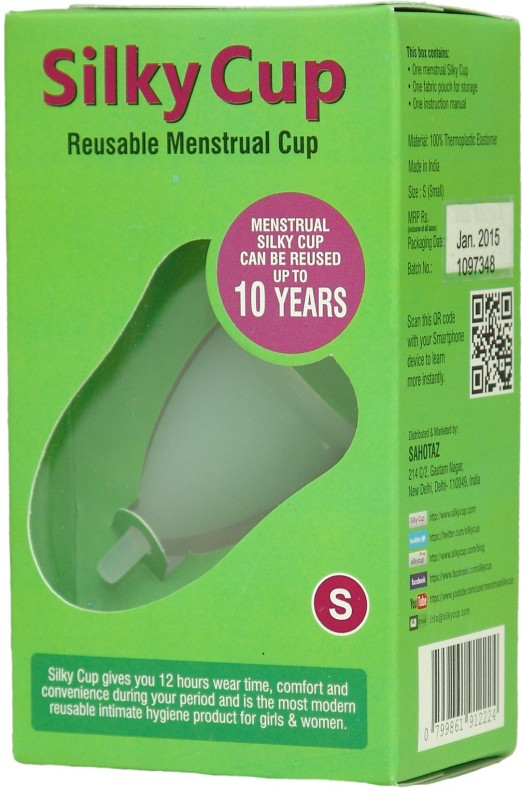 Silky Cup Small Reusable Menstrual Cup(Pack of 1)