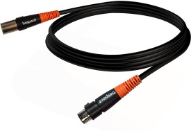 Bespeco XLR TO XLR 20FT Cable(Black)