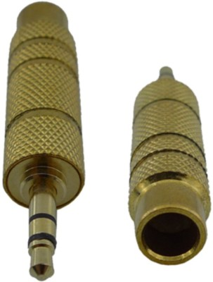 F2s 3.5 mm Male to 6.5 Female Lead Adapter(Gold)