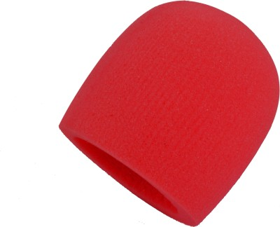 Prodx windscreen foam red pack of-2pcs shield sponge foam(red)