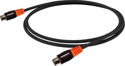 Bespeco Midi to Midi cable(Black)