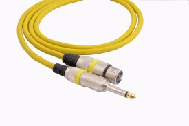 Prodx p38 mono male to xlr female microphone extention 3mtr cable