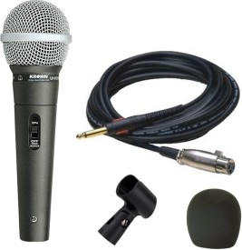 Krown KM98 XLR Multipurpose General PA Series Indian Mic Microphone
