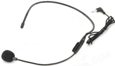 Krown General PA Series Headband Mic with 3.5MM Connector for Laptop, PC, Smartphones, Mobiles Microphone