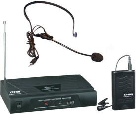 Krown VHF Series Omnidirectional Wireless Headband Mic Microphone
