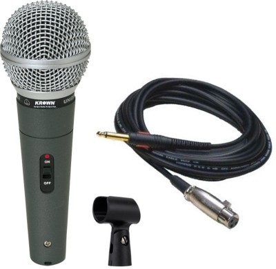 Krown Krown 580 Xlr Multipurpose Professional Pa Series Mic Microphone