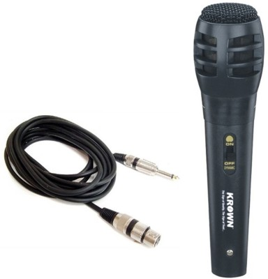 Krown General Economical PA Series CM-783 XLR Wired Unidirectional Dynamic Mic Microphone